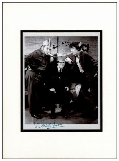 Porridge Autograph Signed Photo - Barker and Wilde